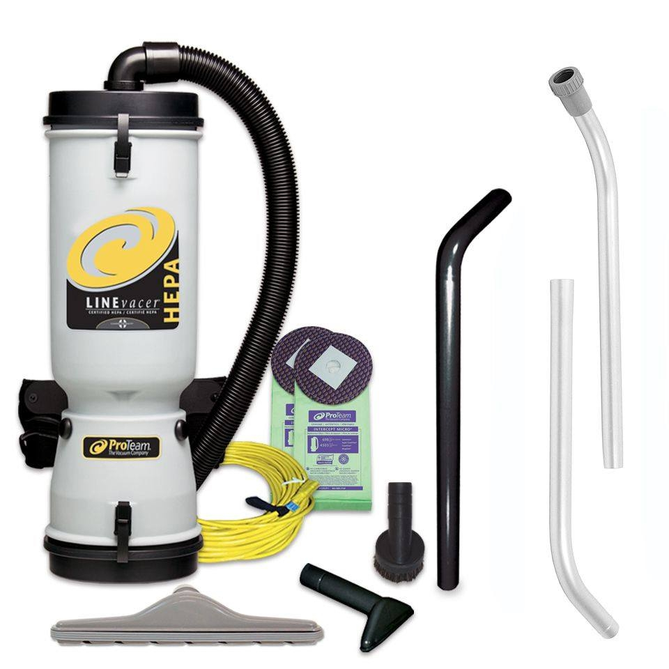 ProTeamR Lead Based Paint Removal Backpack Vacuum